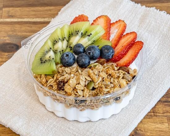 Juiced Up Nutrition Coconut Fruit Bowl