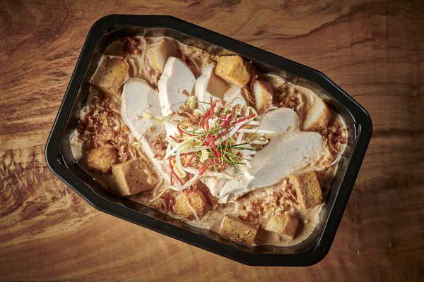 Authentic Singaporean High Protein Chicken Laksa