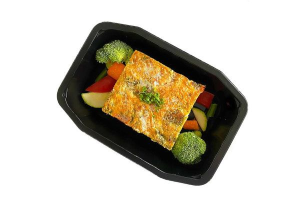 High Protein Breakfast Seasonal Vegetable Egg Frittata
