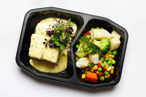 High Protein Tofu With Honey Mustard
