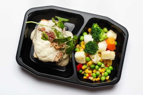 High Protein Tofu With Thai Green Curry Sauce
