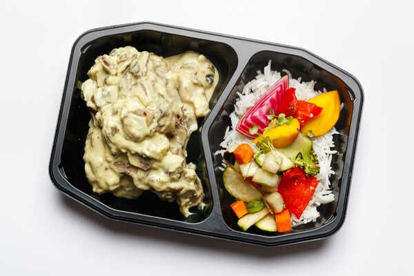 Oven Roasted Chicken With Mushroom Sauce