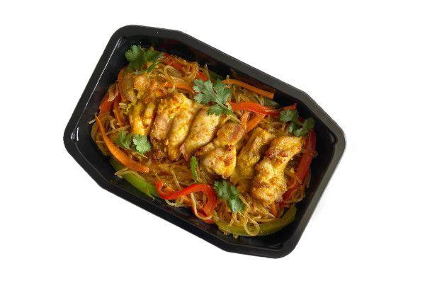 Singapore Chicken Noodle