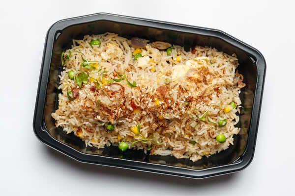 Stir Fry Vegetarian Brown Rice