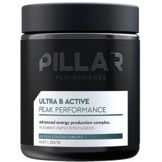 The Pillar Performance Ultra B Active is a vegan friendly supplement used by bodybuilders and athletes alike, activated B vitamin formulation to help promote energy levels and relieve fatigue while also supporting healthy stress responses.